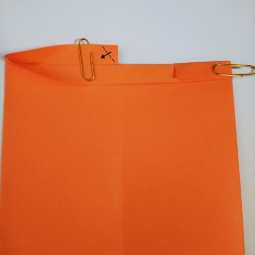 折り紙で財布を折る折り方の手順画像