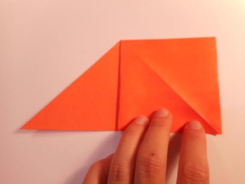 折り紙でゆりを折る折り方の手順画像