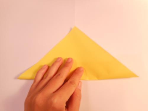 折り紙で腕時計を折る折り方の手順画像