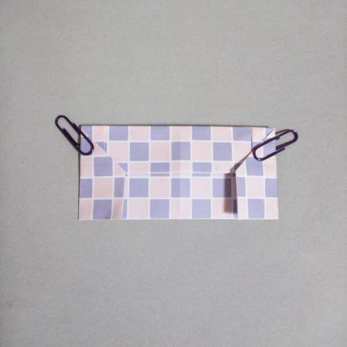 折り紙で色々な椅子を折る折り方の手順画像