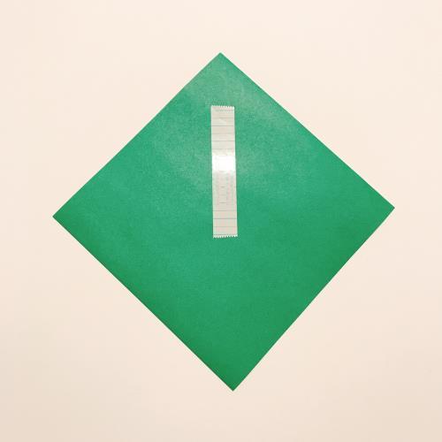 折り紙で箸袋を折る折り方の手順画像