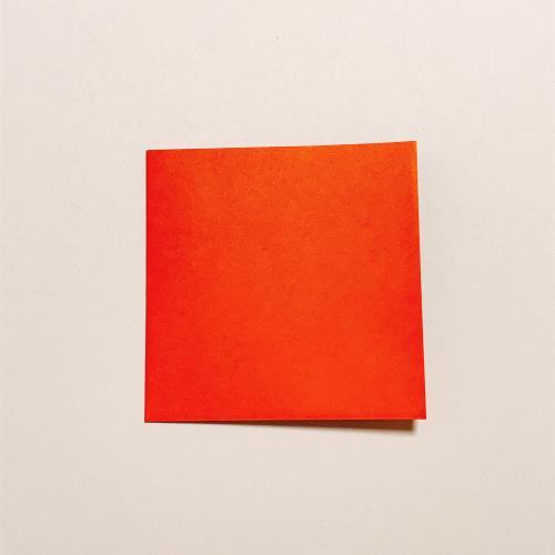 折り紙で箸置きを折る折り方の手順画像