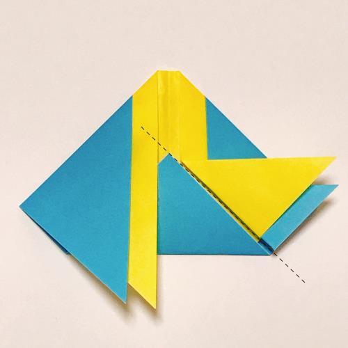 """折り紙で雛人形を折る折り方の手順画像"""" width="""