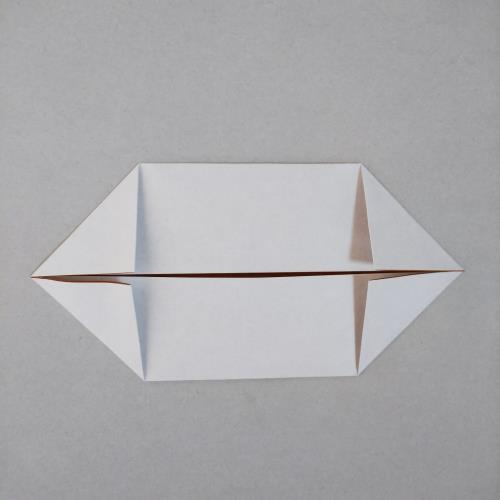 """折り紙でホットドッグを折る折り方の手順画像"""" width="""
