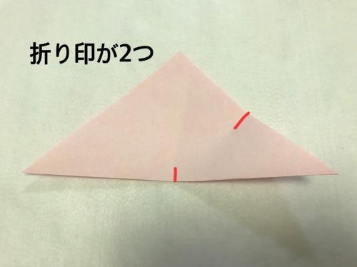 折り紙で切り絵をするやり方の手順画像
