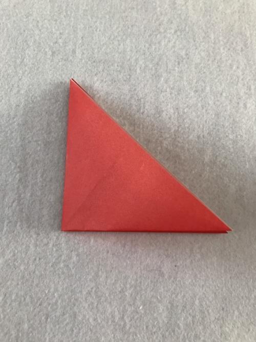 折り紙でチューリップを折る折り方の手順画像