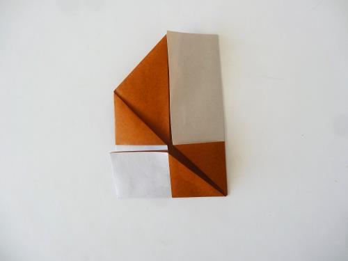 折り紙でクッキーを簡単に折る折り方の手順