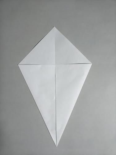 折り紙で大根を折る折り方の手順画像