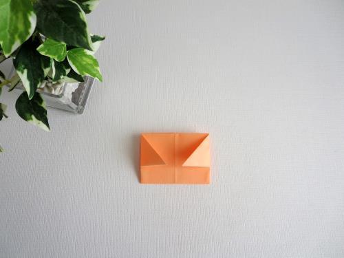 折り紙でディズニーのプリンセスを折る折り方の手順画像
