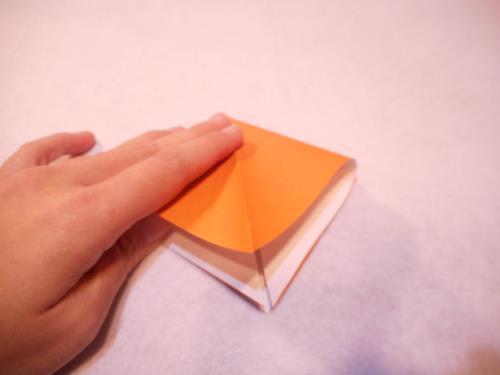 折り紙でもみじを折る折り方の手順画像