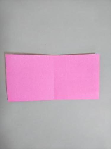 折り紙で桃を折る折り方の手順画像