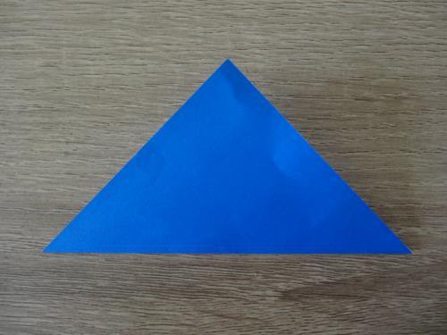折り紙でまりを折る折り方の手順画像