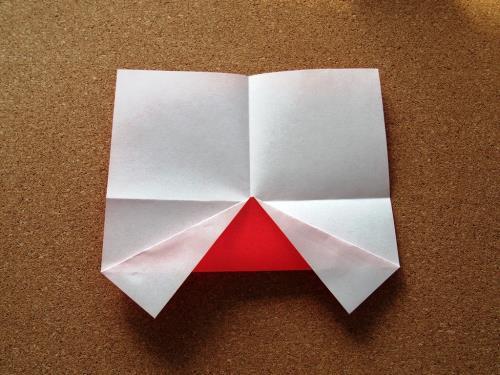 折り紙で車を折る折り方の手順画像
