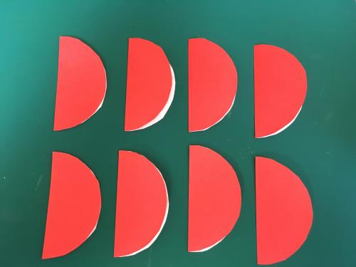 折り紙でハニカムボールを折る折り方の手順画像