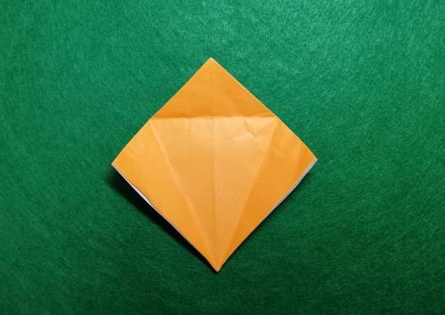 折り紙でエビを折る折り方の手順画像