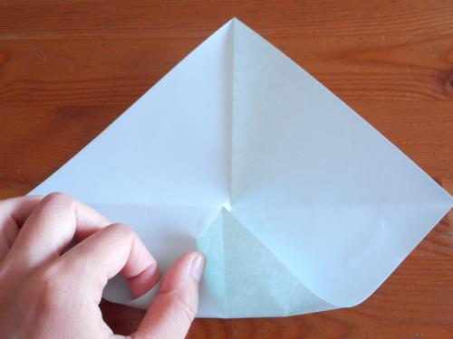 折り紙で風鈴を折る折り方の手順画像