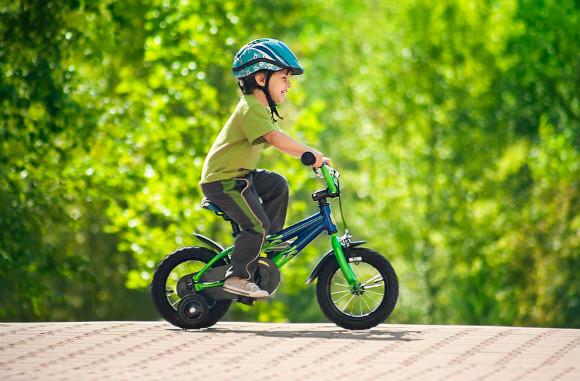 子供の自転車