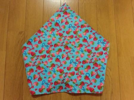 手作り三角巾を作る手順