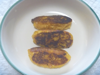 ふんわりツナ豆腐バーグ