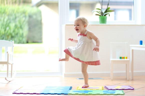 ダンスを楽しんでいる子供