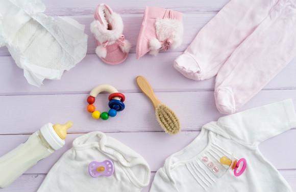 赤ちゃんの様々な用品