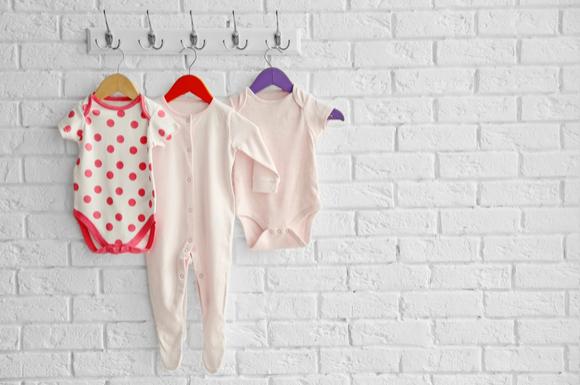 ベビー服の色々な種類