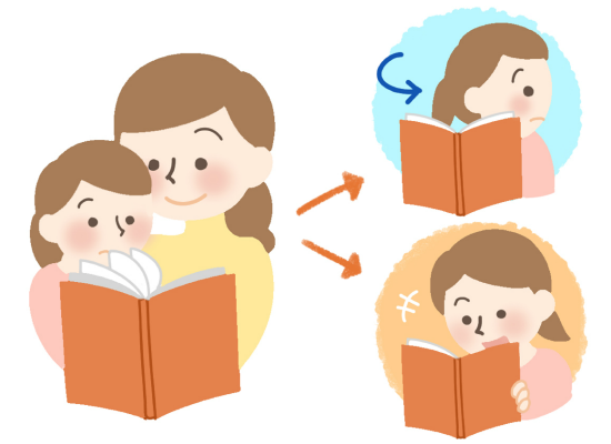 kids interesting in picture book