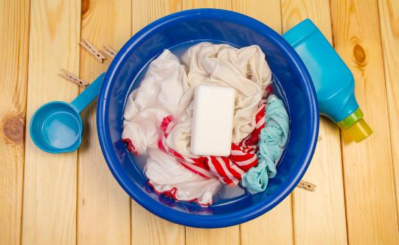 子供のつけてきた汚れの洗濯方法について