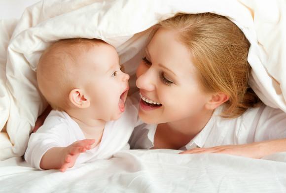 3ヵ月の赤ちゃんとの遊び