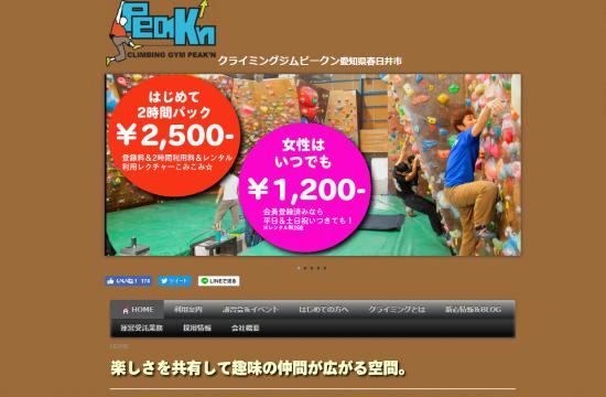 クライミングジム PEAK'N(ピークン) 0912-4