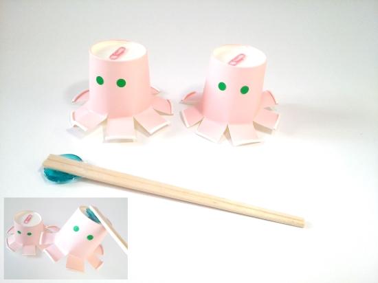 紙コップ遊び0421-7