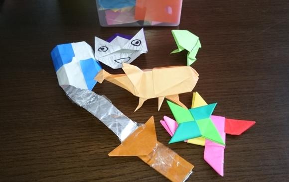 折紙の作品