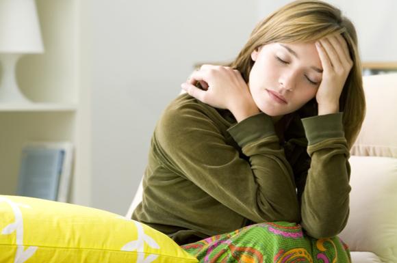 産後も高血圧に悩まされている女性