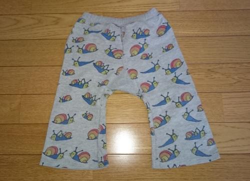 子供の長ズボン