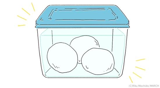 一升餅の保存方法114612
