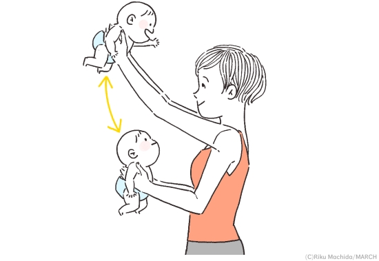 抱っこ体操