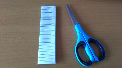 折り紙で天の川を作る手順5