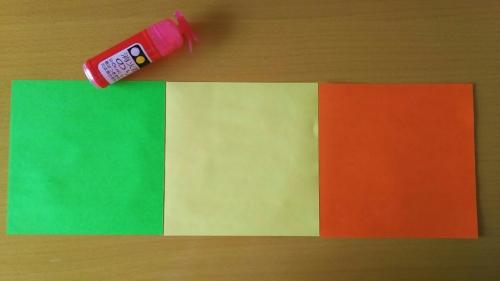 折り紙でお星さまを折る手順の画像2