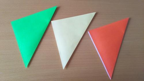 折り紙でお星さまを折る手順の画像3