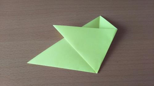 折り紙でお星さまBを折る手順の画像5