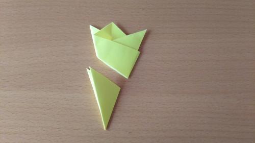 折り紙でお星さまBを折る手順の画像8