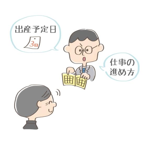 会社への報告