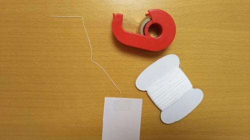 折り紙で短冊を作る手順4