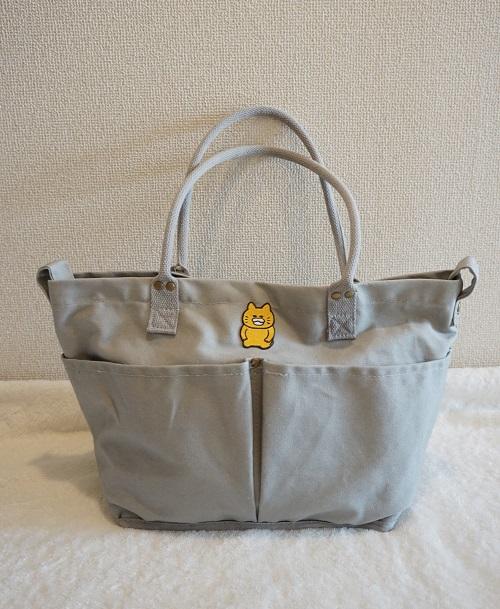 ニトリのマザーズバッグの外側ポケット