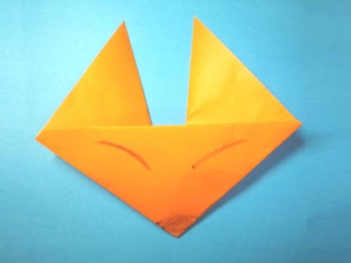 折り紙きつね