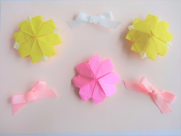折り紙 花 立体 折り方niceno1 Origami Flower 3d Youtube