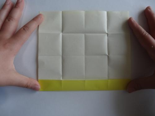 折り紙でお花を折る手順5