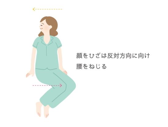 腰のツイスト101713