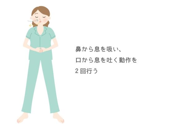 腹式呼吸10173