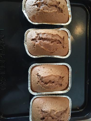 ホケミチョコパウンドケーキを作る手順